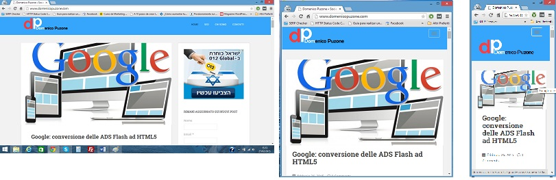 verifica manuale siti responsive