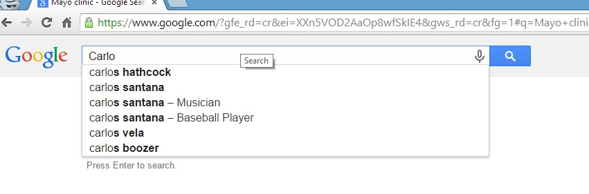 carlos santana google